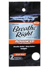 Breathe Right 2 ct strips