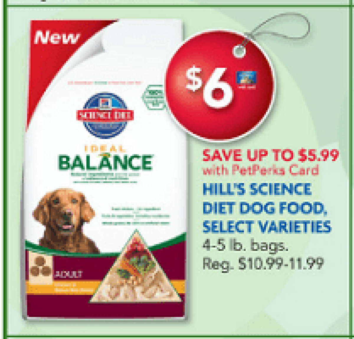 Science Diet Dog Food: FREE 5 Lb Bag After Printable Coupon