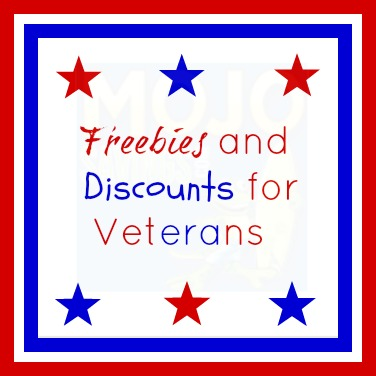 Freebies and Discounts for Military on Veterans Day