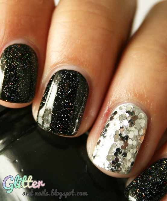 Manicure Inspiration for New Years Eve