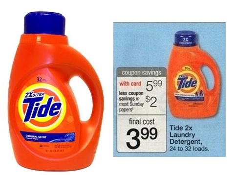 Tide Detergent Only $2.74 at Walgreens! Stock Up Time!