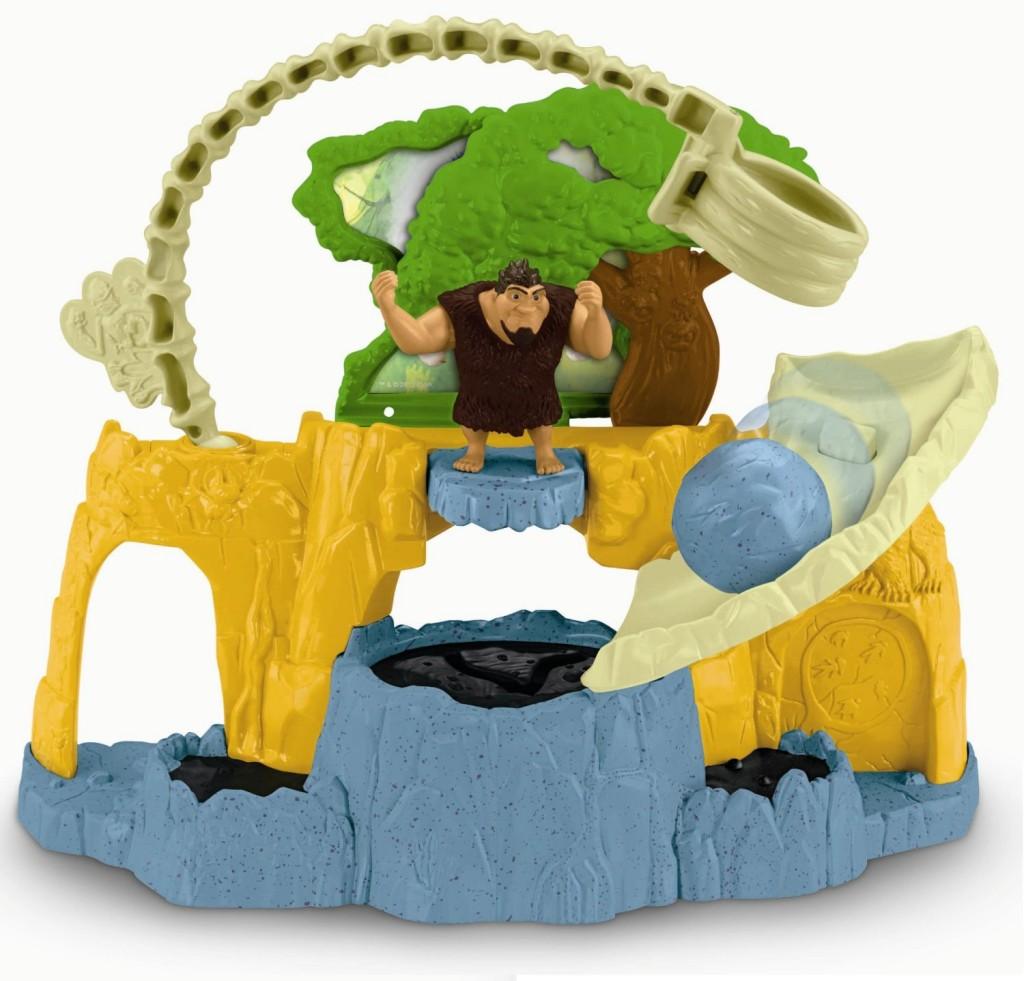 The Croods Toys R Us : Fisher price dreamworks the croods tar pit playset only