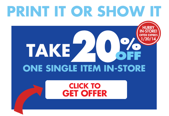 Bed Bath & Beyond: 20% Off In-Store Purchase Coupon!