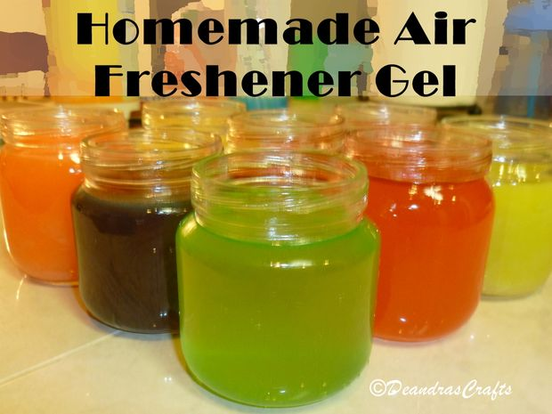 Air Freshener Craft Projects