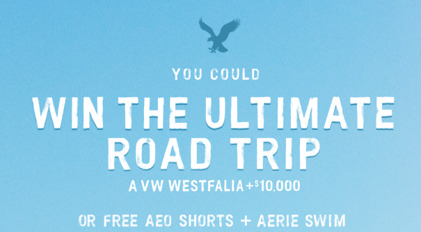 American Eagle, aerie bathing suit, aeo shorts, instant win game, sweepstakes, american eagle instant win