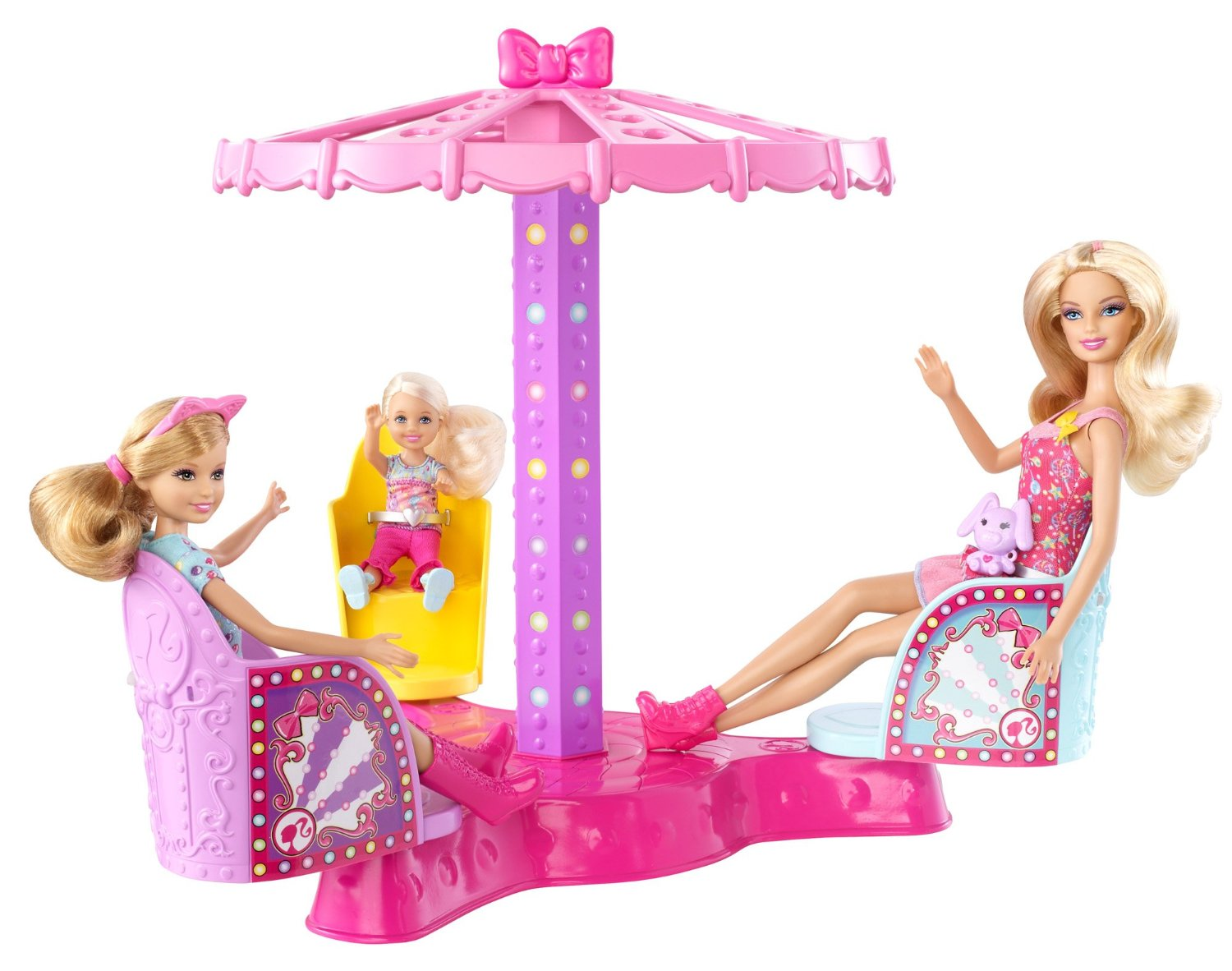 Toys For Sisters : Barbie sisters twirl spin ride playset only