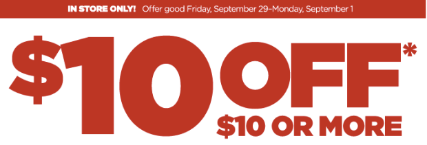 JCPenney $10 off of $10 Coupon, free stuff, jcpenney coupons, jcpenney deals, jcpenney