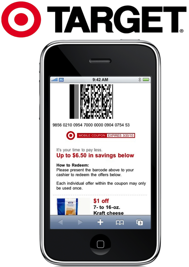 Hot new target mobile coupons available for Coupon mobile ikea