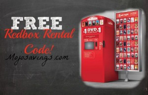 FREE Redbox DVD Rental, redbox code, free rental at redbox, dvd redbox code, free dvd movie