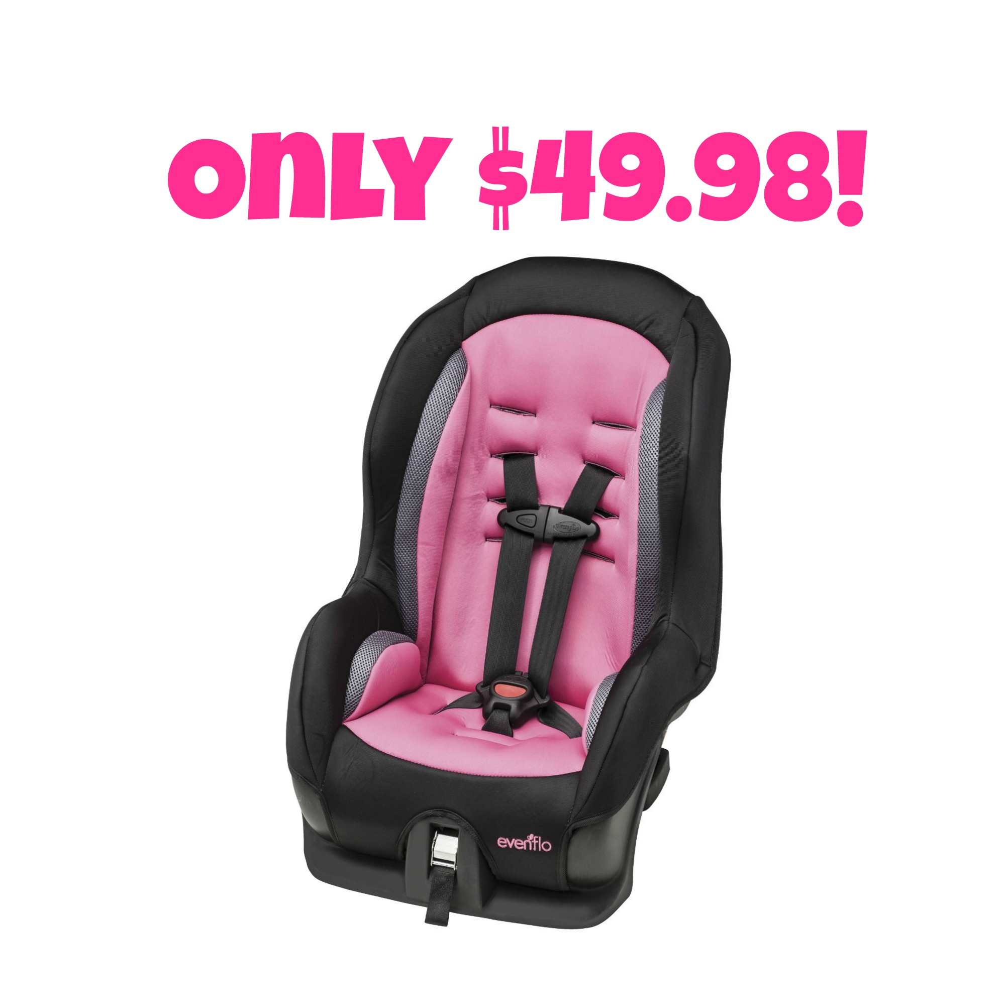 Evenflo Tribute Sport Convertible Car Seat In Willa Only 4998