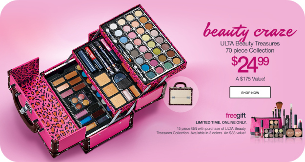 Ulta: 70pc beauty treasures collection + 15pc gift & samples only $21.49 - mojosavings.com.