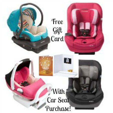 Car Seat Purchase, free $25 amazon gift card, amazon car seat purchase, free amazon gift card