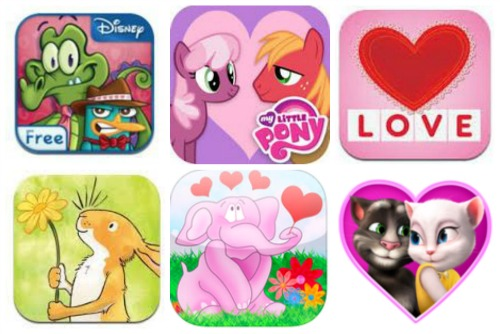 Valentines Day Apps for Kids, free Valentines Day Apps for Kids, smart apps for kids, kids apps, free apps