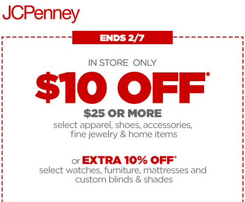 Jcpenney coupons 30 percent off 2018