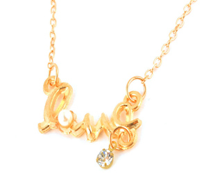 LOVE-Word-Necklace