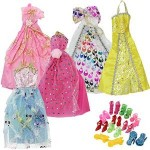 Barbie Doll Party Clothes, amazon Barbie Doll Party Clothes, amazon deals, barbie clothes