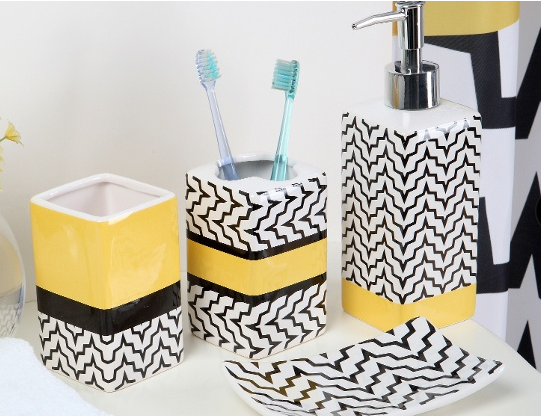 Great Everything Chevron 18 Piece Bath In A Box Decor Set Only $26.99! (Reg.  $59.99!)
