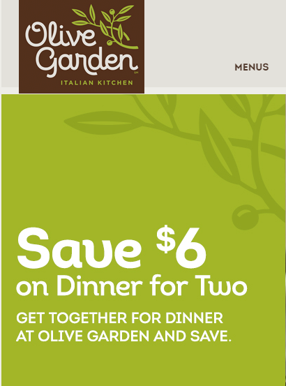 All about Olive Garden Coupons Amp Deals Save 10 In September 2018 ...