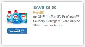 photograph about Persil Printable Coupon known as Persil ProClean Laundry Detergent $5 off Printable Coupon
