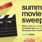 moviefone sweeps