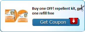 repellent kit, off! repellent kit, free off! refill, off bug spray, off! coupons
