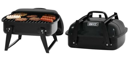 Portable Charcoal Grill Backyard Grill 12u2033 Only $10 + FREE Store Pick Up!