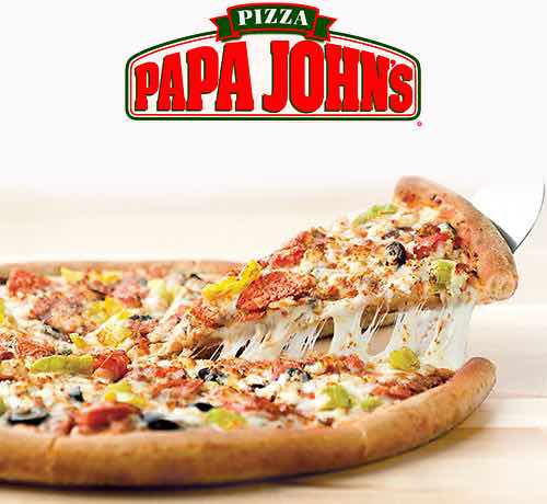 Papa John S 40 Off Regular Menu Price Pizza Purchase