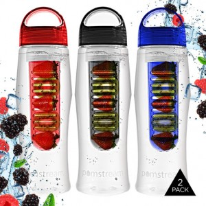 PomStream NonSlip Infuser Water Bottle, Tanga Deals, Online Deals, Infusion Water Bottle, Water Bottles, Fruit Infused Water