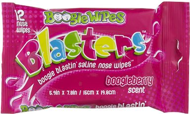 Boogies Wipes 12ct