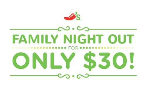 Chili's Family NIght!