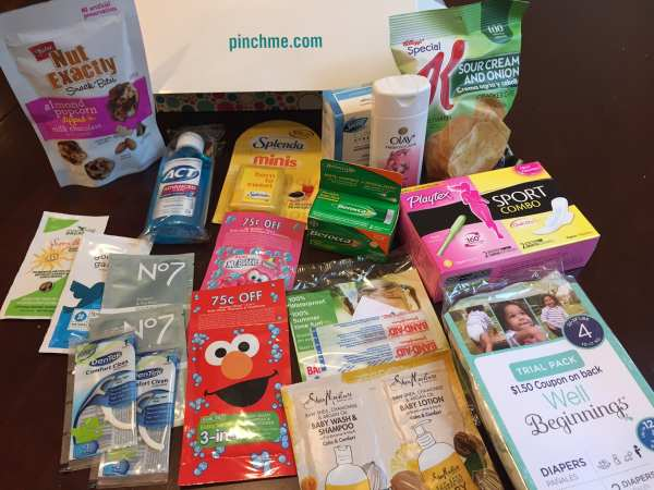 New Pinchme Free Samples Today Full Size Baby Samples