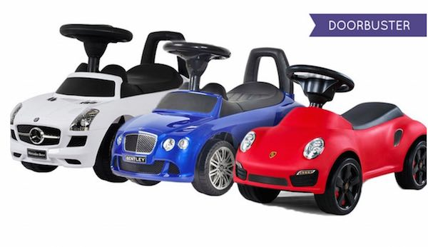 Groupon Children S Luxury Push Cars Only 52 99 Normally