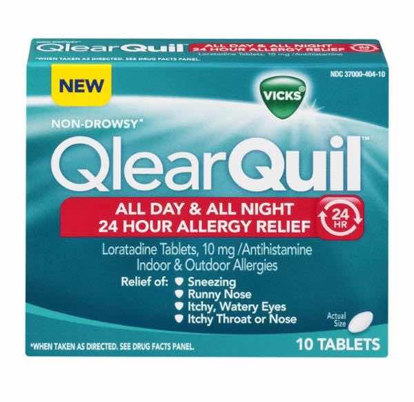 vicks qlearquil