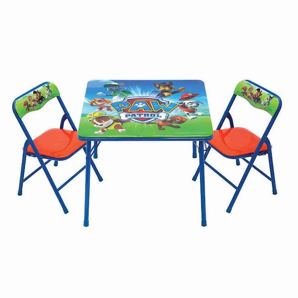 Kohs Paw Patrol Activity Table Amp Chair Set Only 1088