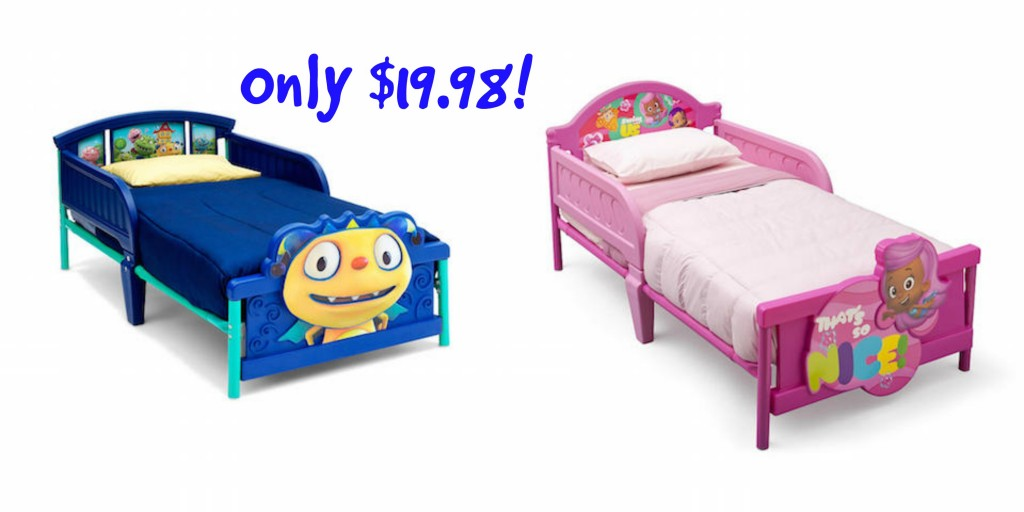 HOT Toddler Beds As Low As 1998 Reg 4998 Shipped