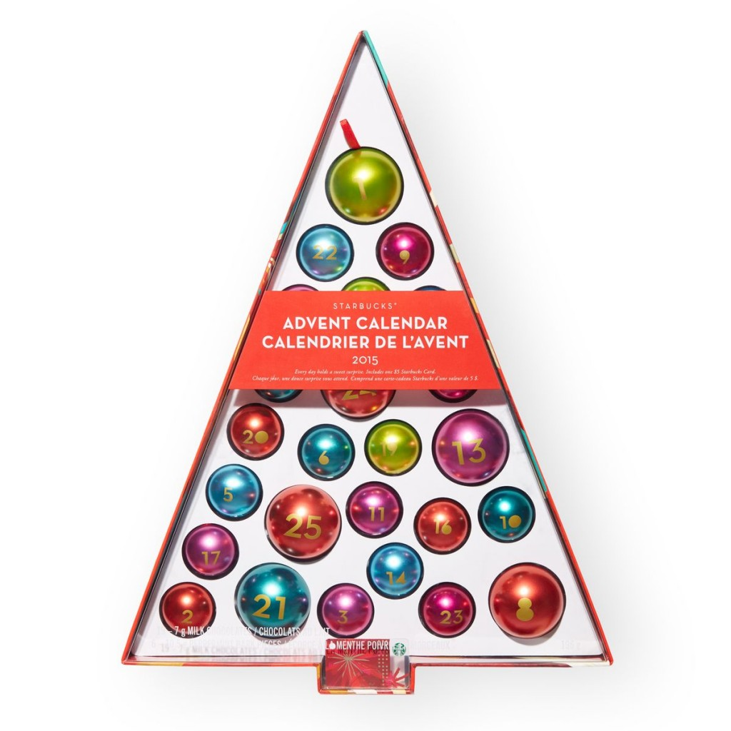 Starbucks 2015 Ornament Advent Calendar Only $14.99 (reg $44.95) + ...