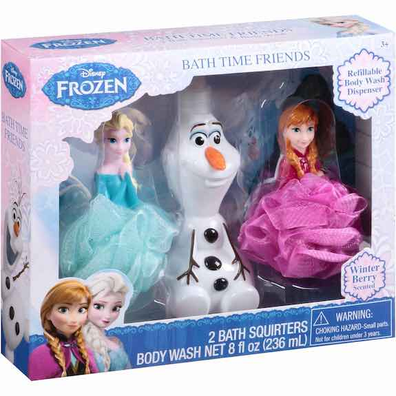 Disney Frozen Winter Berry Scented Bath Time Friends Gift Set