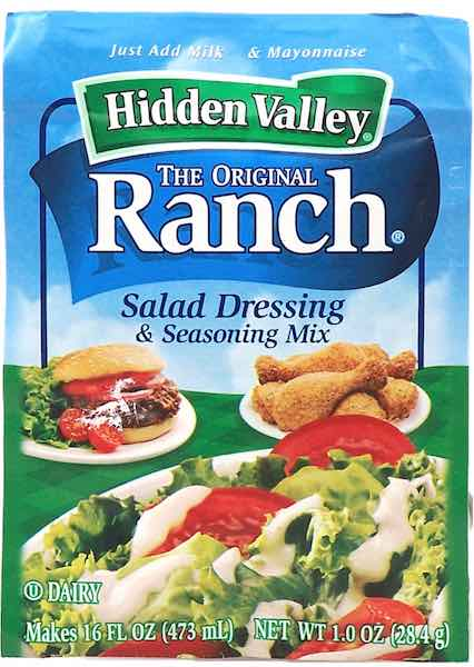 Hidden Valley Ranch Dry Mix