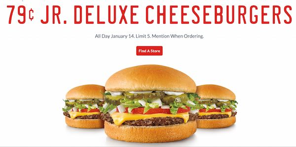 Jr Deluxe Cheese Burgers