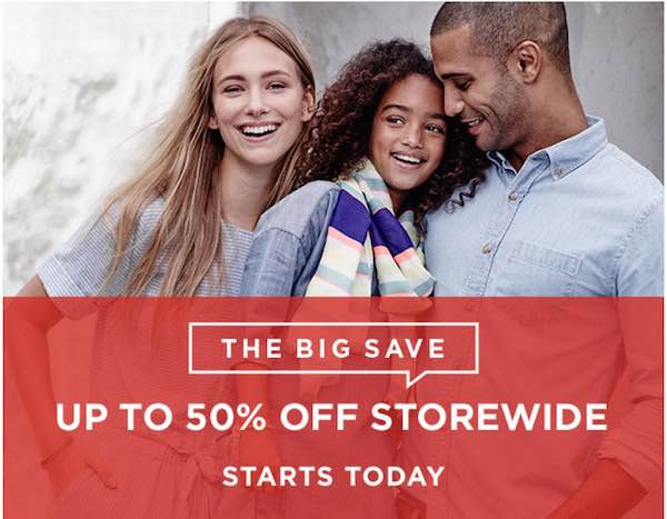 Old Navy The Big Save