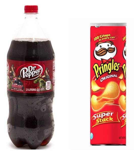 Pringles And Dr Pepper