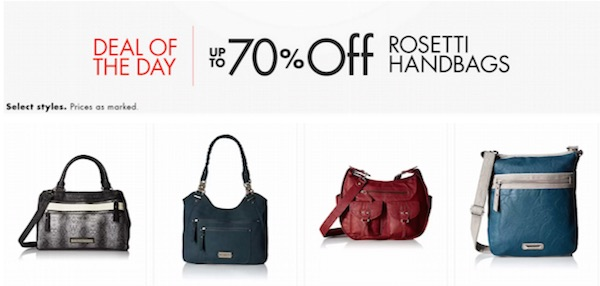 Get Up To 70 Off Rosetti Handbags Prices Starting At 11 15