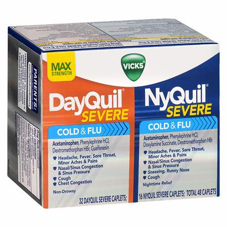DayQuil:NyQuil Severe Combo Pack