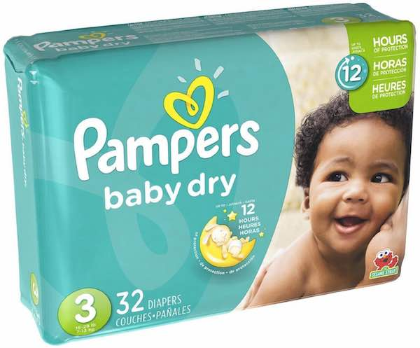 Pampers Baby Dry Jumbo Pack Diapers