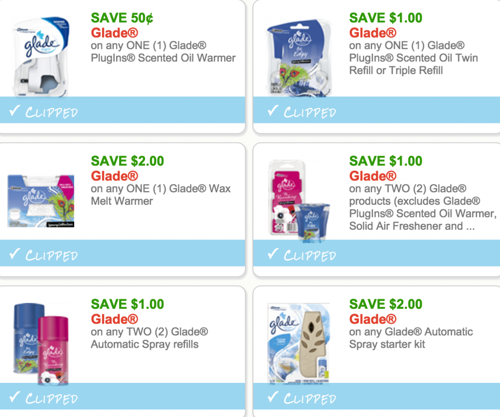 photograph relating to Glade Printable Coupons named Fresh new Glade Printable Discount codes!
