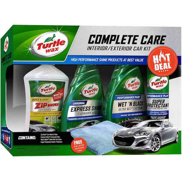 Turtle Wax Complete Car Care Kit