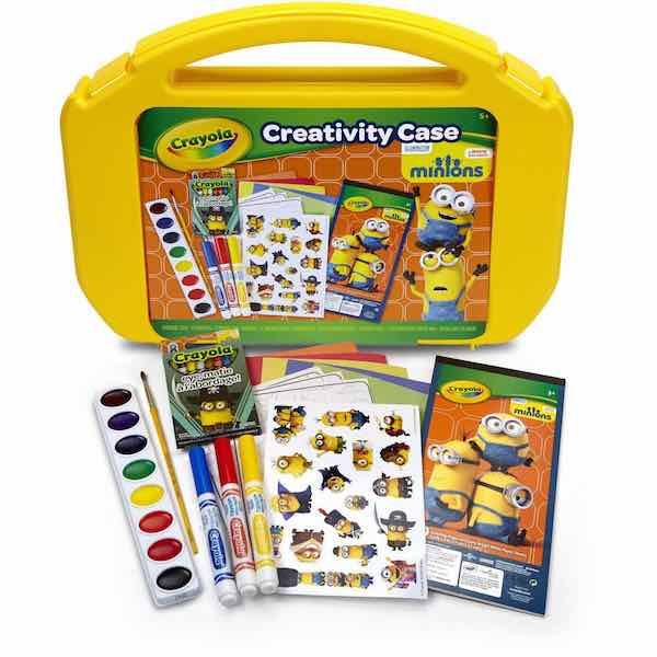 Crayola Ultimate Creativity Minion Art Case