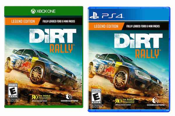 amazon dirt rally for playstation 4 or xbox one only 44. Black Bedroom Furniture Sets. Home Design Ideas