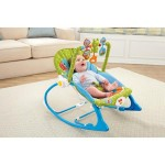 Fisher Price Elephant & Friends Infant-to-Toddler Rocker