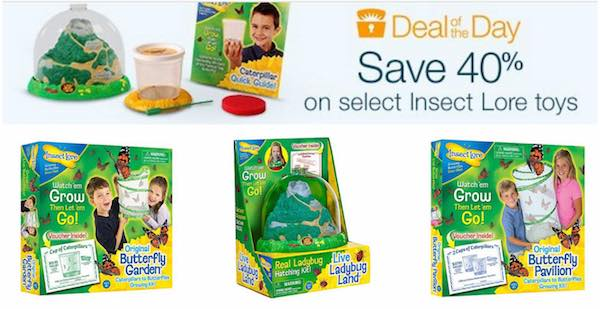 Amazon: Insect Lore Toys 40% Off! Prices Start At $13.99!